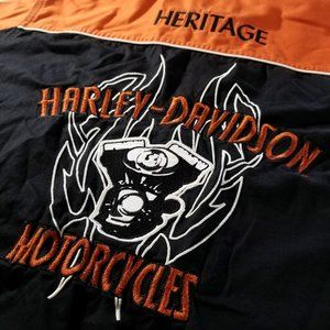 Harley-Davidson Heritage Embroidered Button-Up